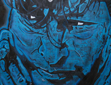 Painting In Gedachte Herman Brood