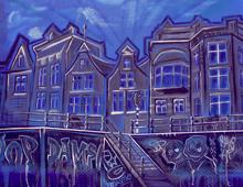 Painting Jopdamsko Amsterdam