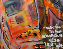 Painting Kurt Cobain