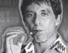 Digital Painting Scarface 2